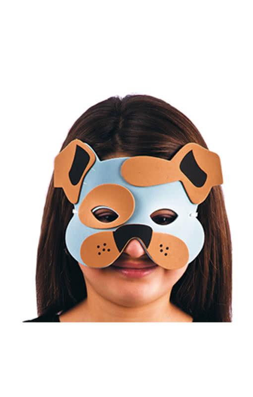 hunde maske f r kinder tiermaske f r kleinere kinder ab. Black Bedroom Furniture Sets. Home Design Ideas