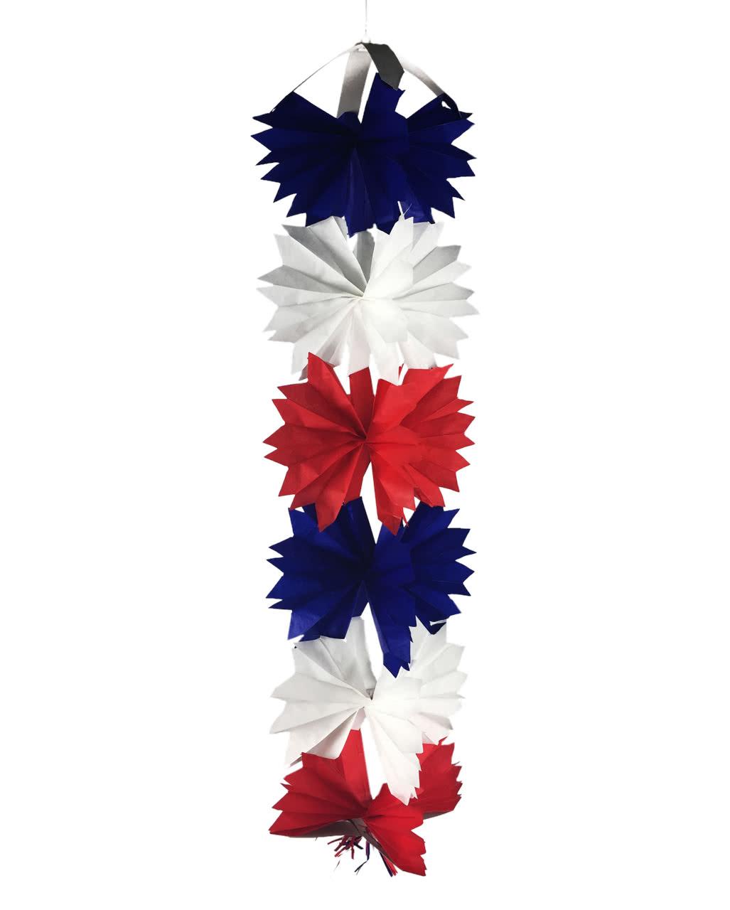 Frankreich kreuz h nger 90cm wm dekoration karneval for Frankreich dekoration