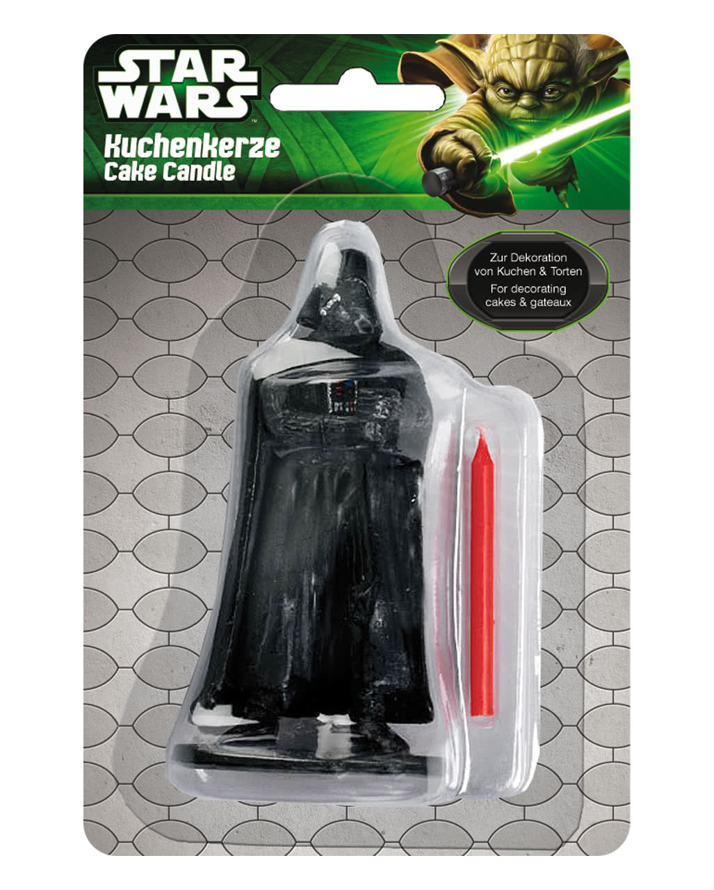 Darth vader tortenkerze star wars deko karneval universe for Star wars deko