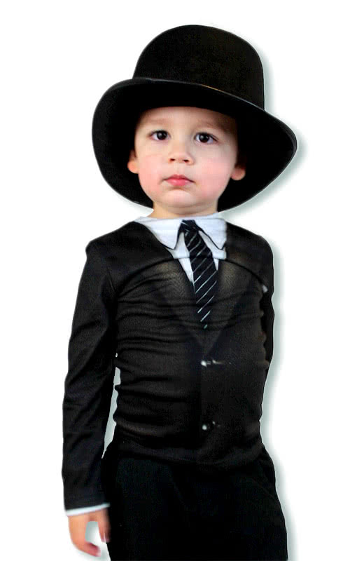 mafia shirt f r kinder gentleman kindershirt karneval universe. Black Bedroom Furniture Sets. Home Design Ideas