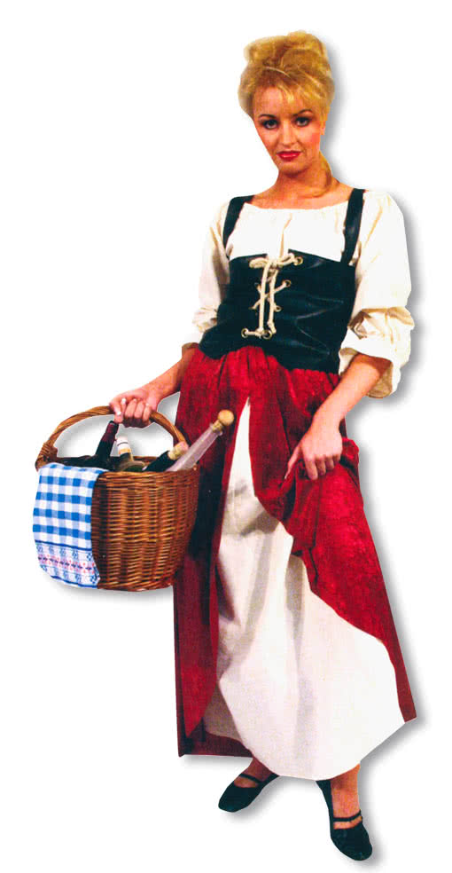 Market Woman Costume Market Woman Carnival Costume Sutler ...