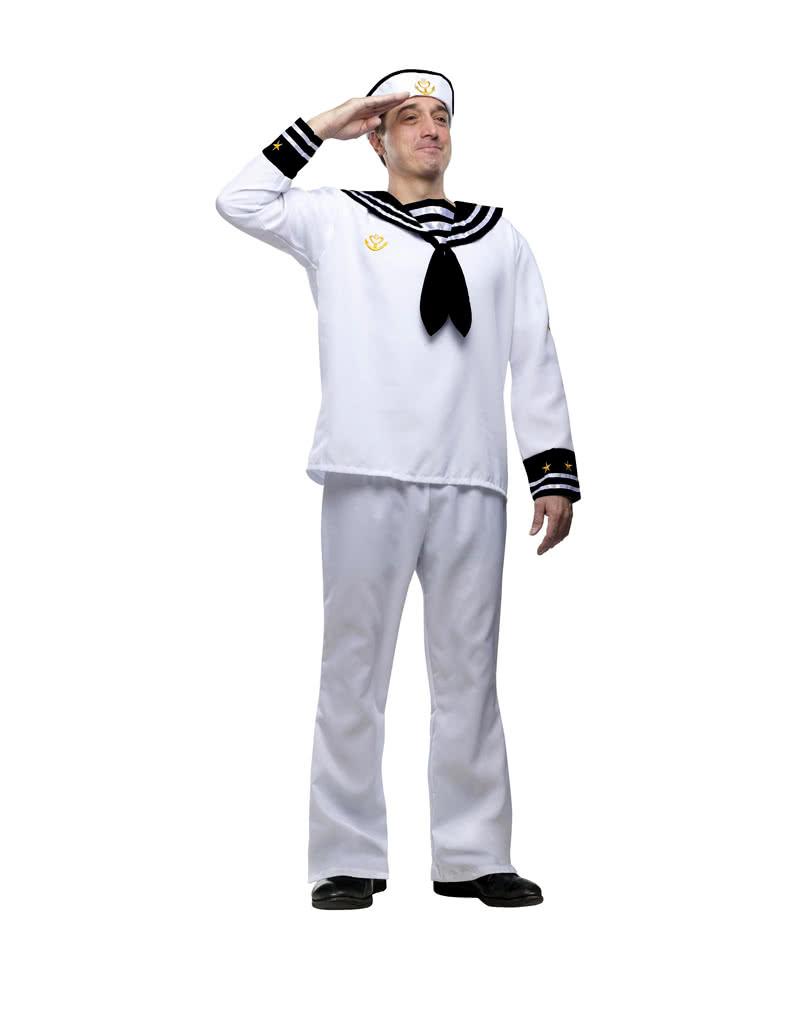 matrosen karnevalskost m marine uniform herren. Black Bedroom Furniture Sets. Home Design Ideas
