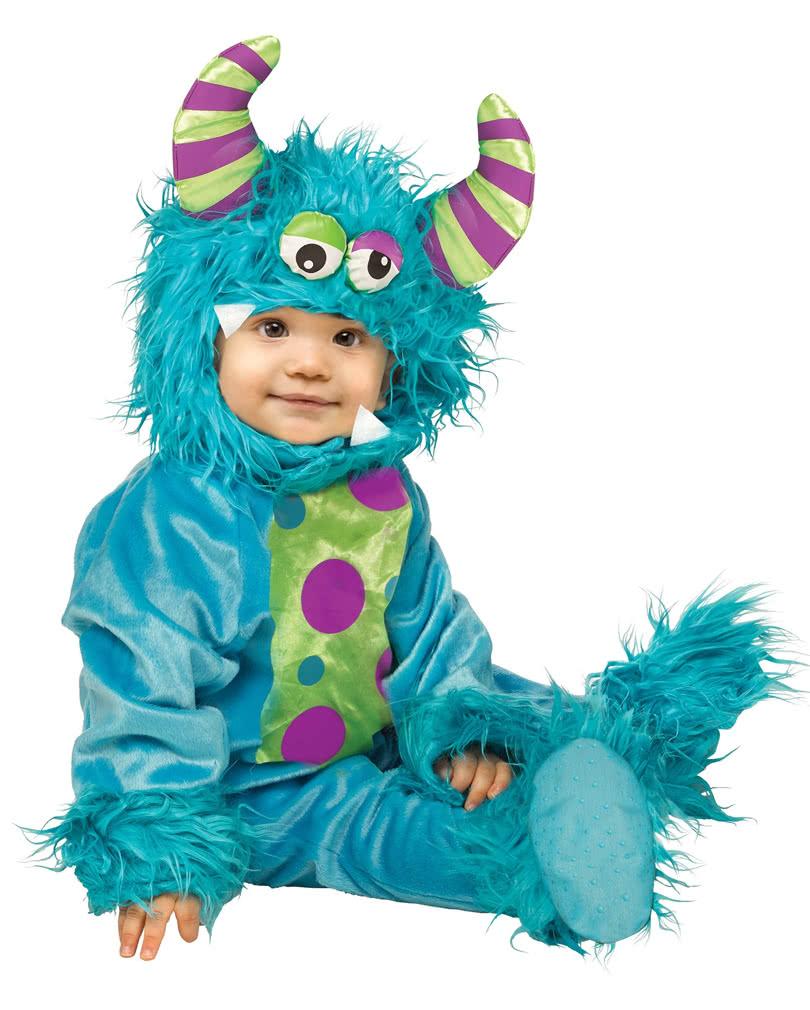 blaues monsterbaby kost m halloween babykost me kaufen karneval universe. Black Bedroom Furniture Sets. Home Design Ideas