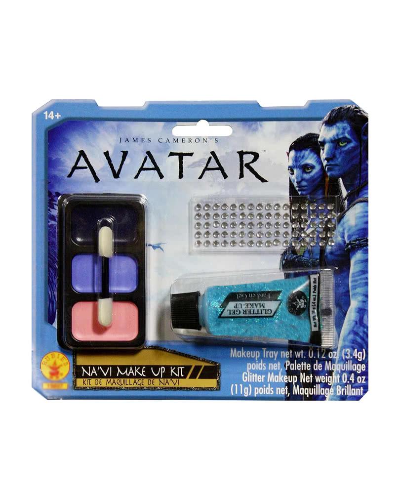 Avatar Na Vi Make Up Set Mit Nase Für Halloween: Navi Avatar Make Up Kit Für Halloween & Fasching