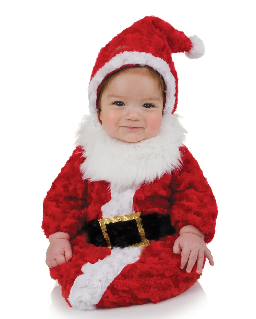 weihnachtsmann babysack kost m pl sch strampelsack mit. Black Bedroom Furniture Sets. Home Design Ideas