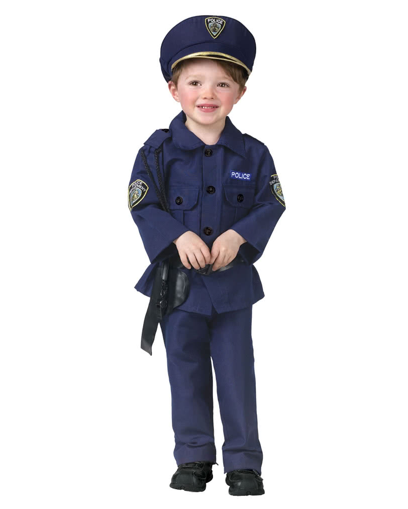 polizist kinder kost m polizei uniform f r kinder karneval universe. Black Bedroom Furniture Sets. Home Design Ideas