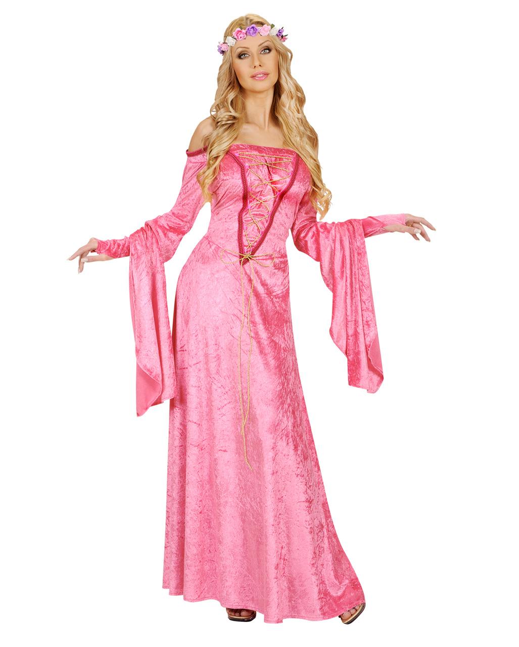rosa aschenputtel kost m m rchenprinzessin outfit f r. Black Bedroom Furniture Sets. Home Design Ideas