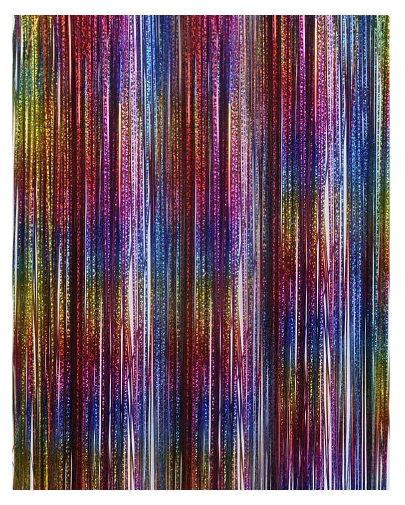 Lametta In Regenbogen Farben Farbenfrohe