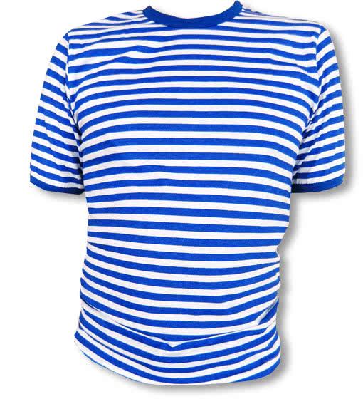 ringelshirt blau wei deluxe marine shirt als faschingskost m karneval universe. Black Bedroom Furniture Sets. Home Design Ideas