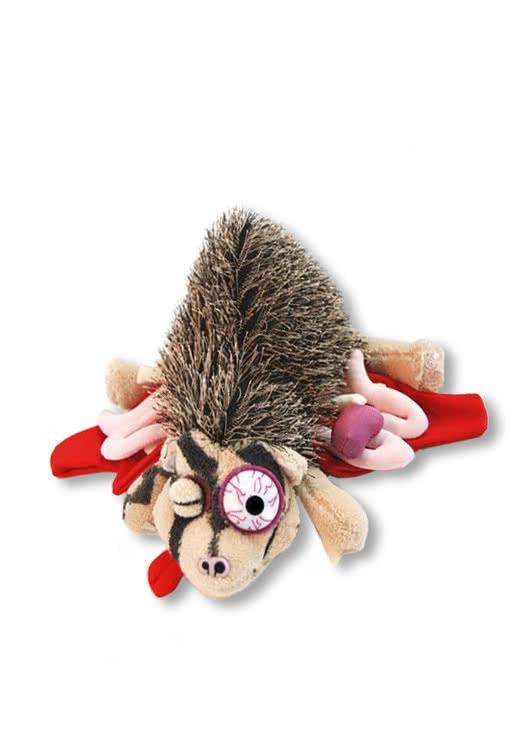 roadkill hedgehog horror plush toy for gory decorations karneval universe. Black Bedroom Furniture Sets. Home Design Ideas