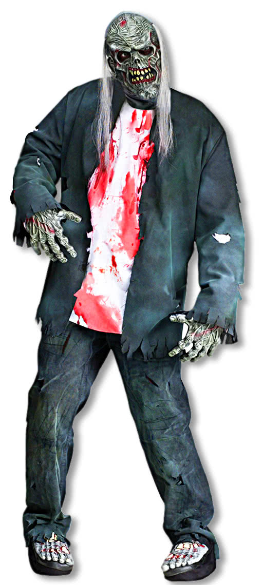 rotted zombie kost m zombie kost me preiswert bestellen karneval universe. Black Bedroom Furniture Sets. Home Design Ideas