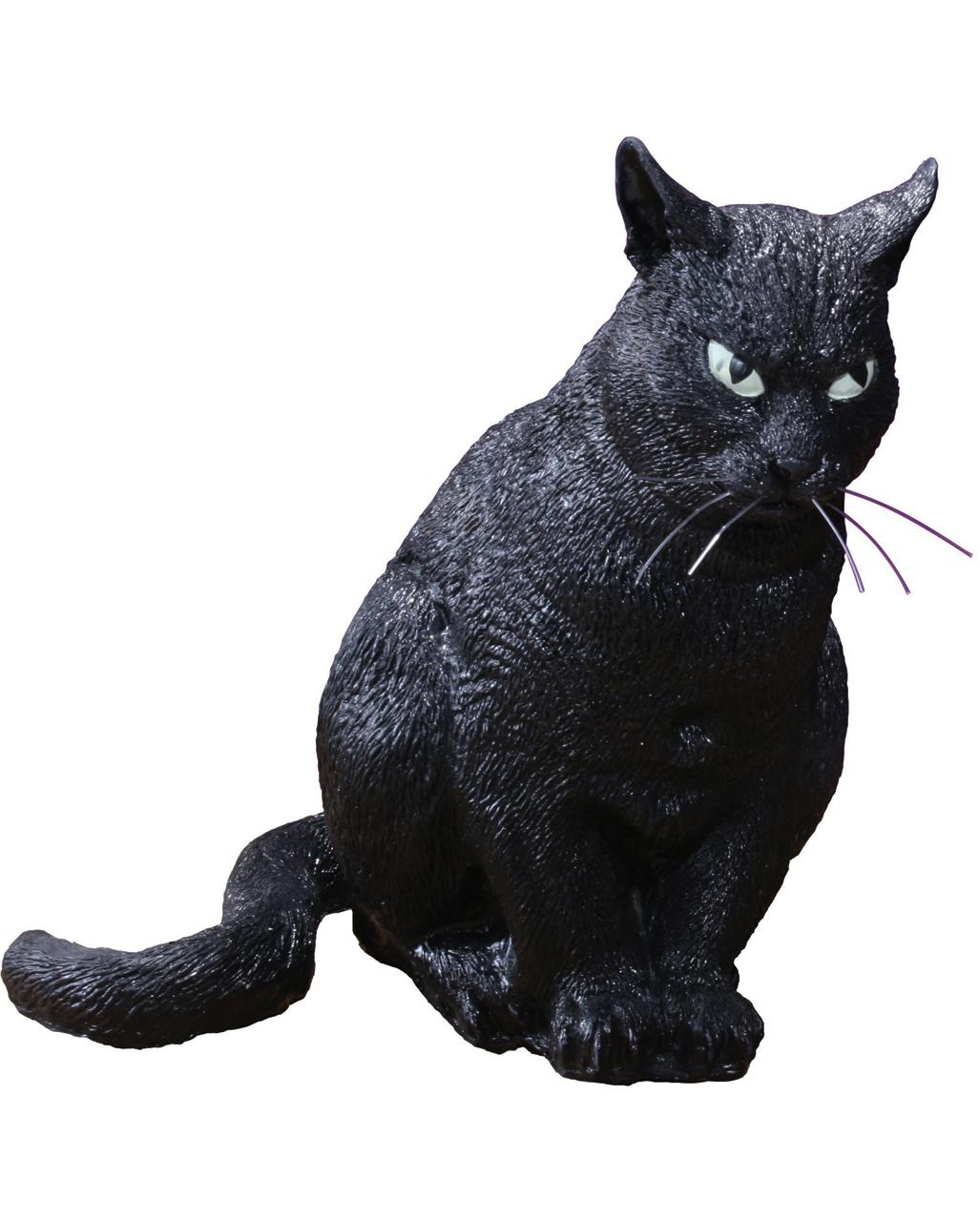 Schwarze Hexen Katze 33 Cm Halloween Deko Karneval Universe