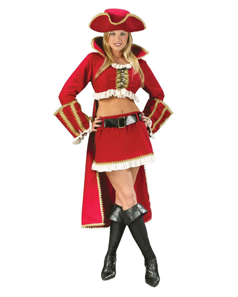sexy captain blackheart piratin kost m gr 40 42 m l f r fasching karneval universe. Black Bedroom Furniture Sets. Home Design Ideas