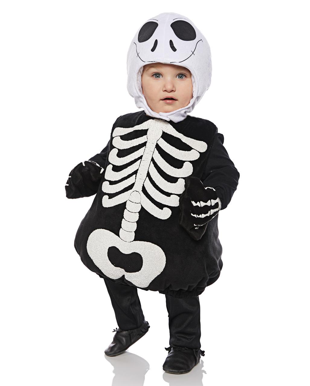 kleinkinderkost m skelett halloween kost m karneval universe. Black Bedroom Furniture Sets. Home Design Ideas