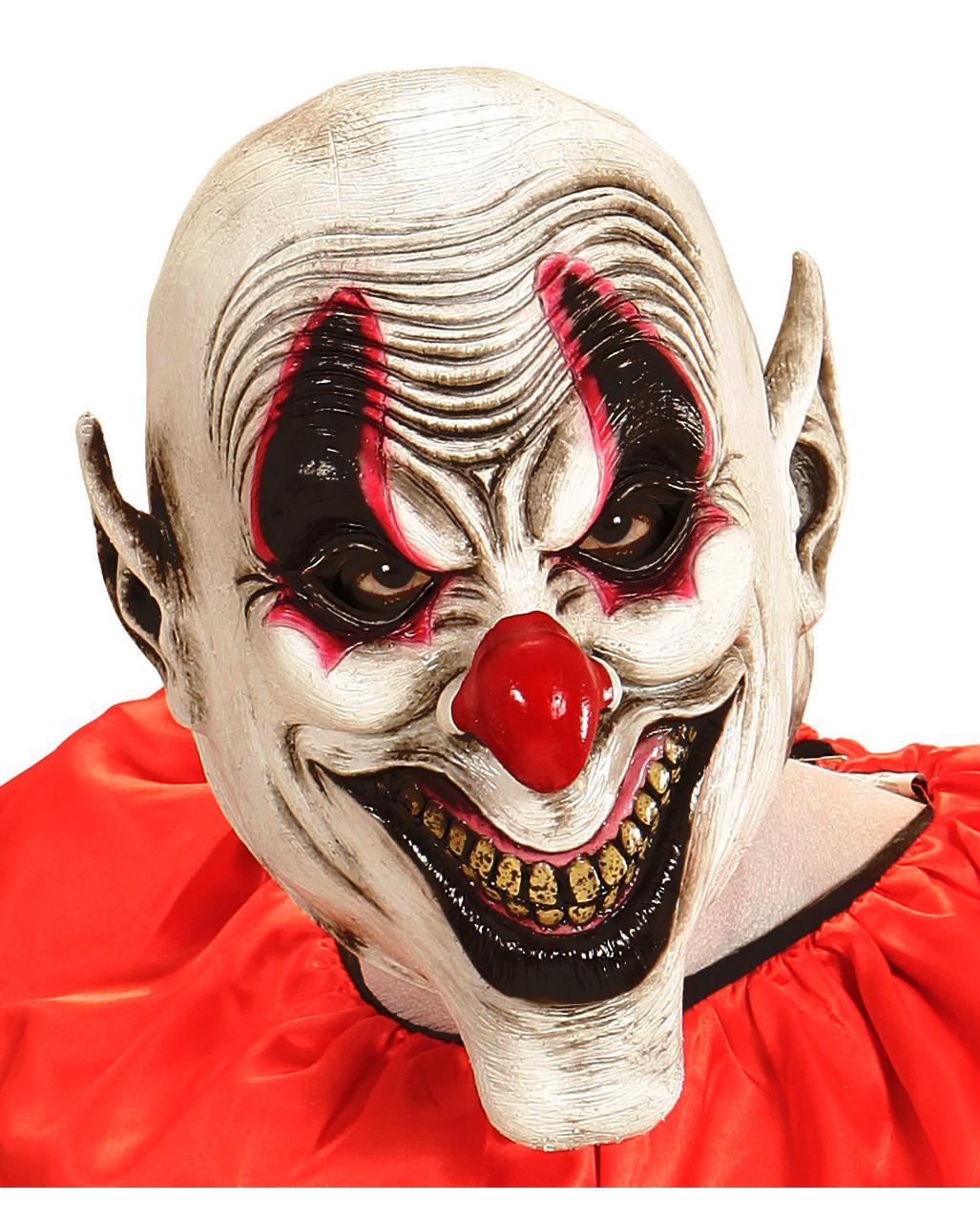 smiling evil clown maske bestellen karneval universe