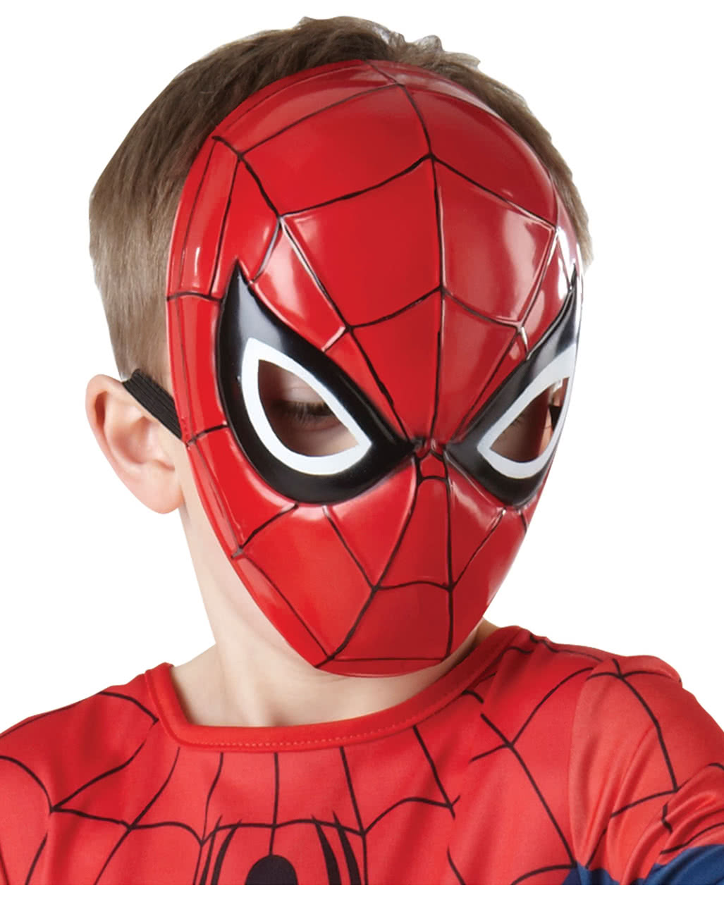 spider man halbmaske f r kinder marvel karneval universe. Black Bedroom Furniture Sets. Home Design Ideas