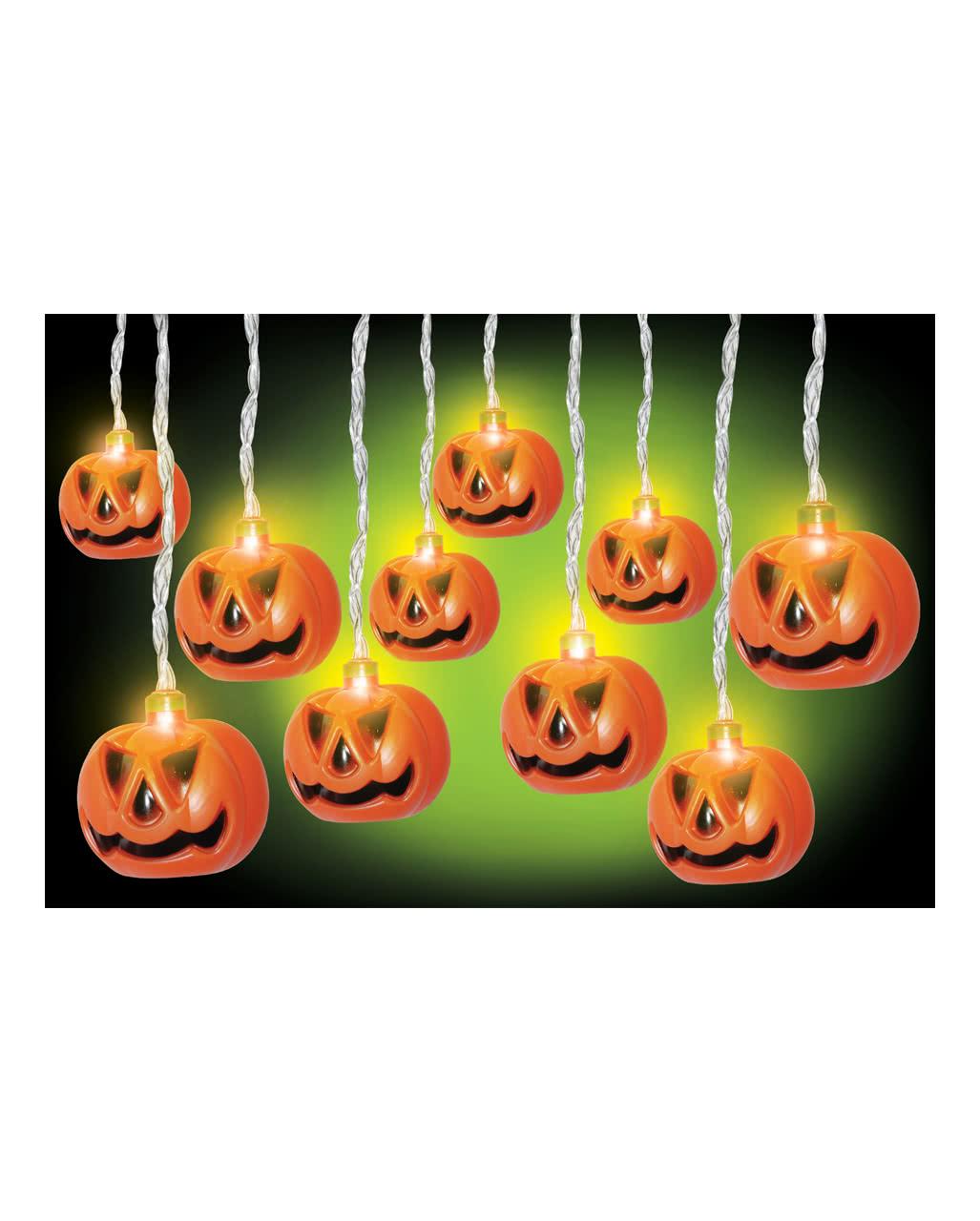 halloween k rbis lichterkette als deko karneval universe. Black Bedroom Furniture Sets. Home Design Ideas