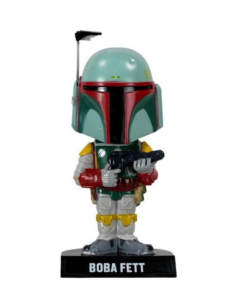 boba fett wackelkopffigur original star wars sammelobjekt karneval universe. Black Bedroom Furniture Sets. Home Design Ideas