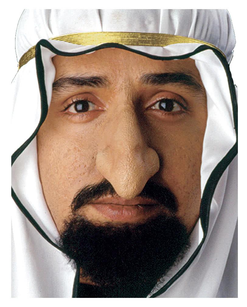 sultan nase aus latex anklebbare nase f r arabische kost me karneval universe. Black Bedroom Furniture Sets. Home Design Ideas