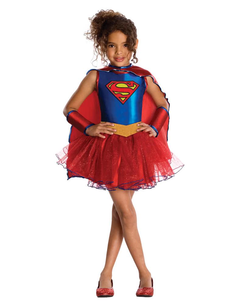 Supergirl kostüm für kinder superhelden kostüme