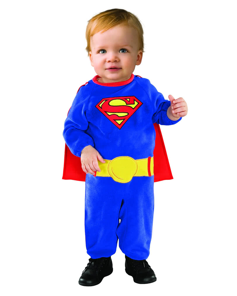 superman babykost m superhelden lizenzkost me f r kinder karneval universe. Black Bedroom Furniture Sets. Home Design Ideas