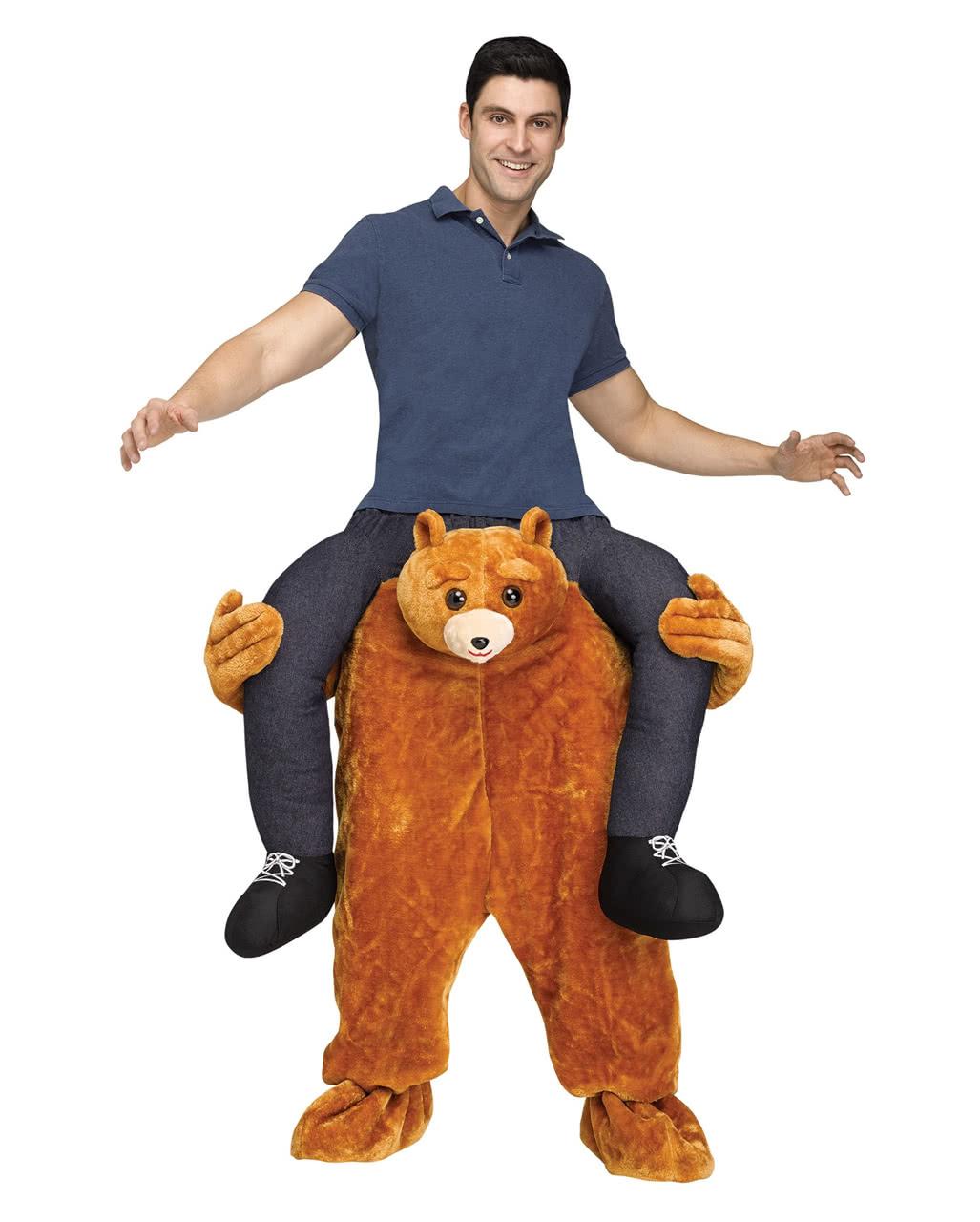 carry me kost m teddyb r f r fasching karneval universe. Black Bedroom Furniture Sets. Home Design Ideas