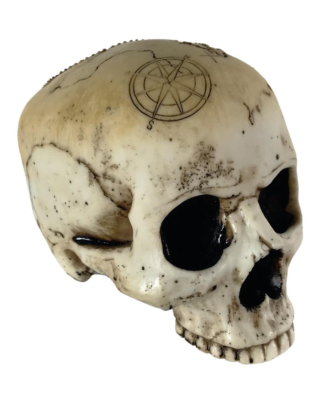 Dekofigur Skull Schädel Deutschland Flagge Totenschädel Totenkopf Scherzartikel