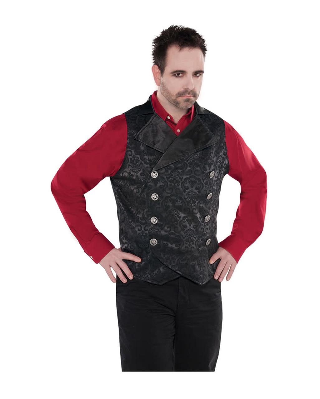 neueste kaufen erstaunliche Qualität neues Konzept Vampir Weste für Männer