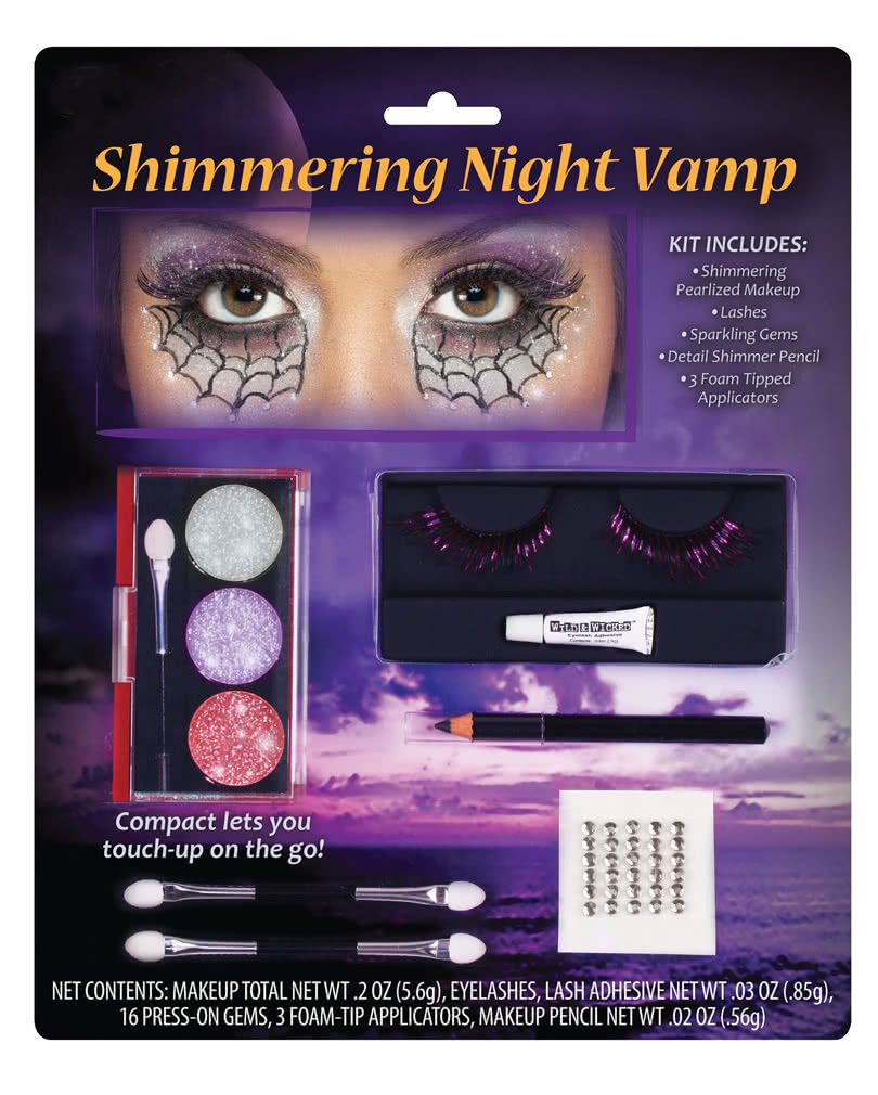 vampir prinzessin make up set f r fasching karneval universe. Black Bedroom Furniture Sets. Home Design Ideas