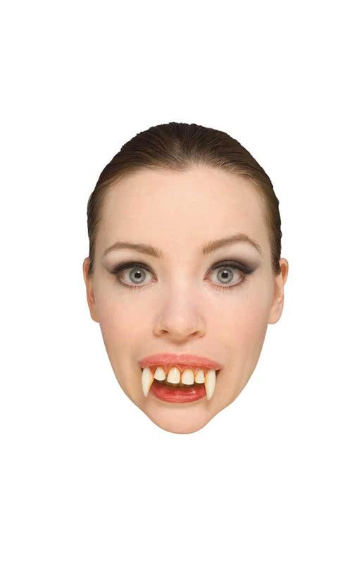 Vampirzähne Vampirgebiss einfach Karneval Fasching