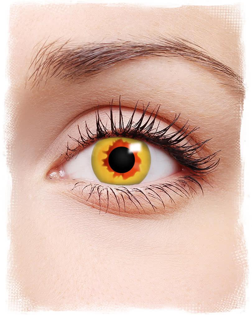vampir motivlinsen goldgelb halloween kontaktlinsen in. Black Bedroom Furniture Sets. Home Design Ideas