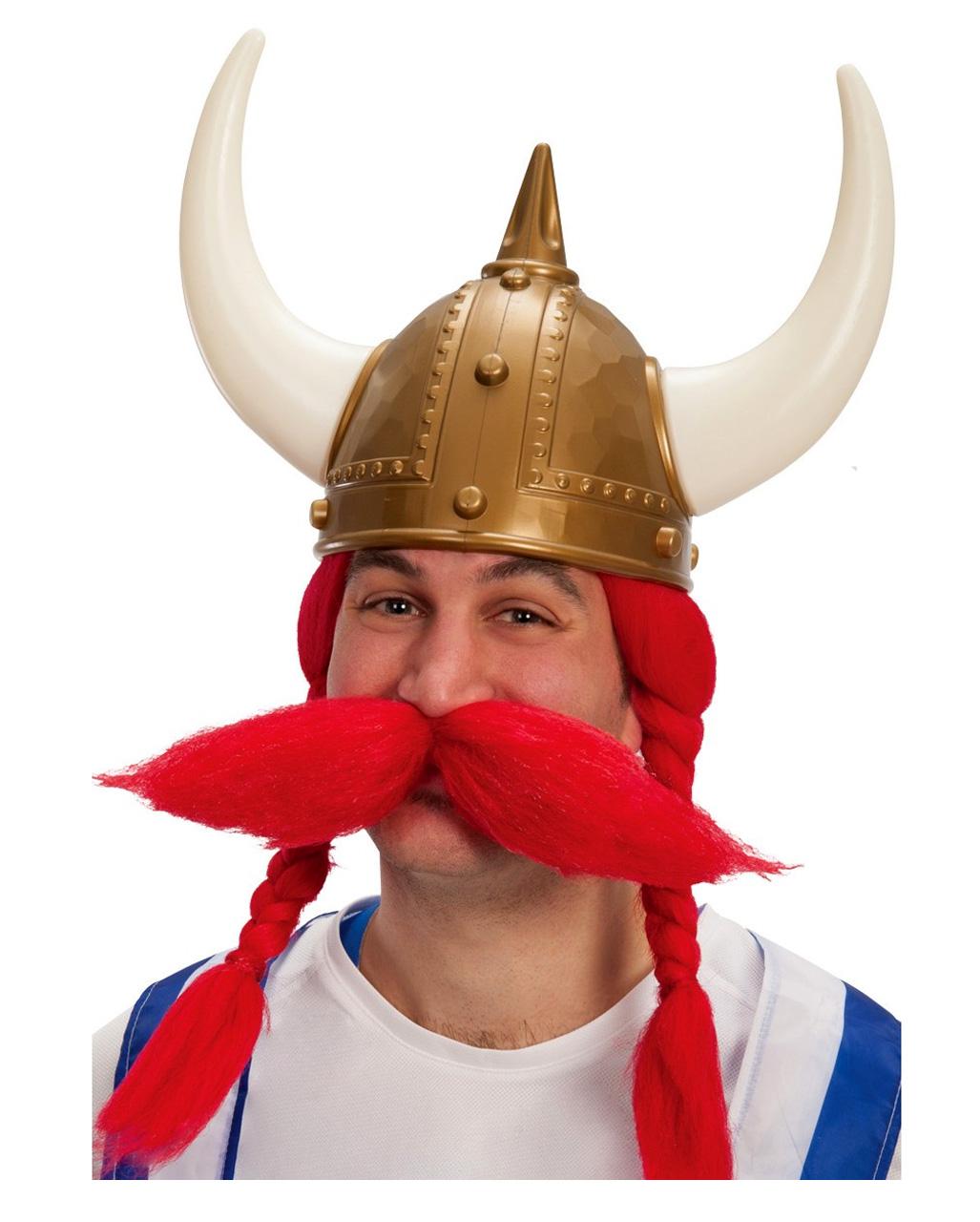 Goldener Wikinger Helm Kostumzubehor Kaufen Karneval Universe