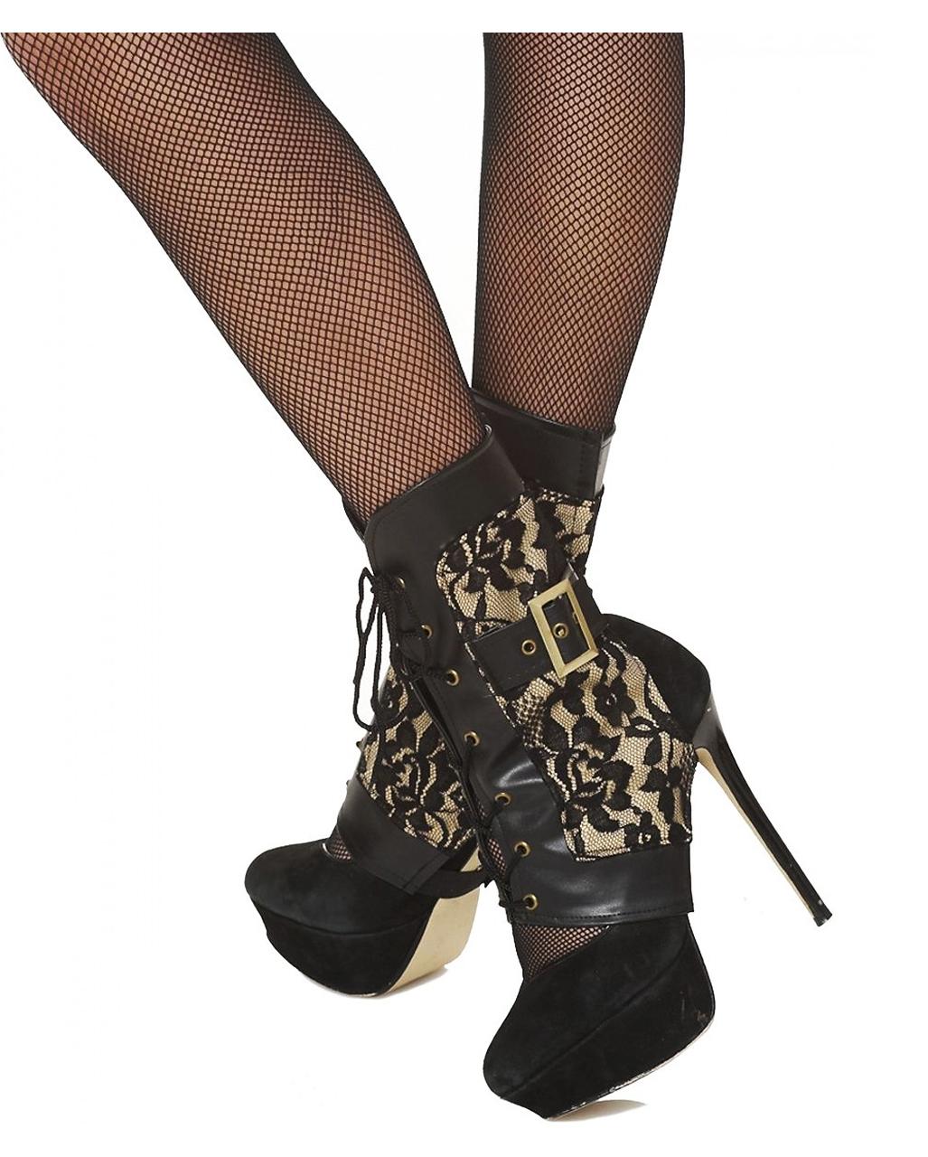 viktorianische stiefel stulpen als kost mzubeh r karneval universe. Black Bedroom Furniture Sets. Home Design Ideas