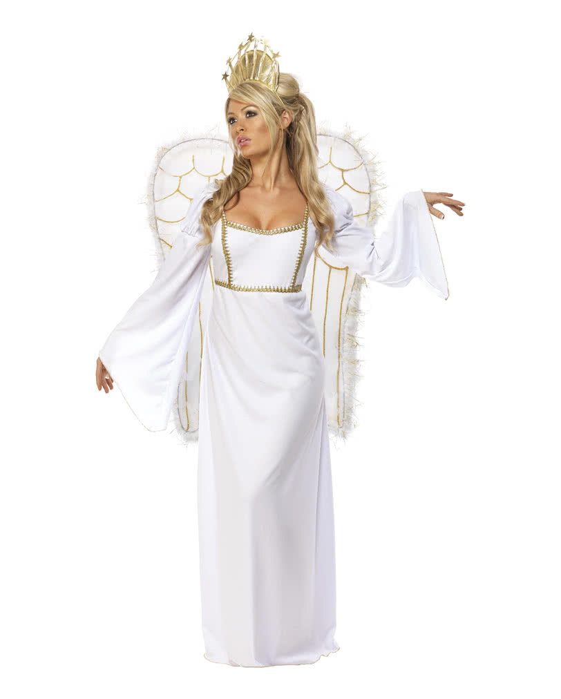 Christmas angel costume with wings