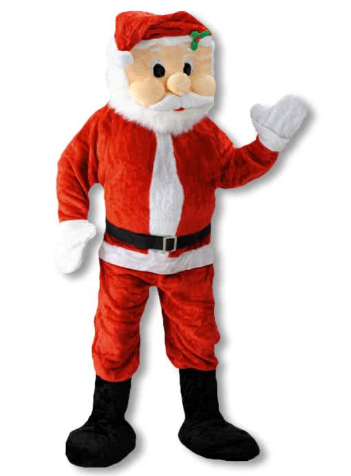 weihnachtsmann maskottchen maskottchen f r den weihnachtsmarkt karneval universe. Black Bedroom Furniture Sets. Home Design Ideas