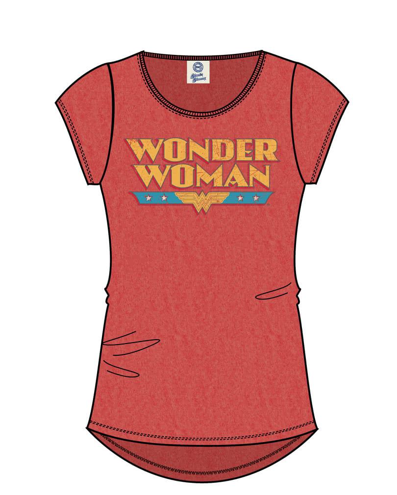 wonder woman damen t shirt lizenziertes superheldin t shirt karneval universe. Black Bedroom Furniture Sets. Home Design Ideas