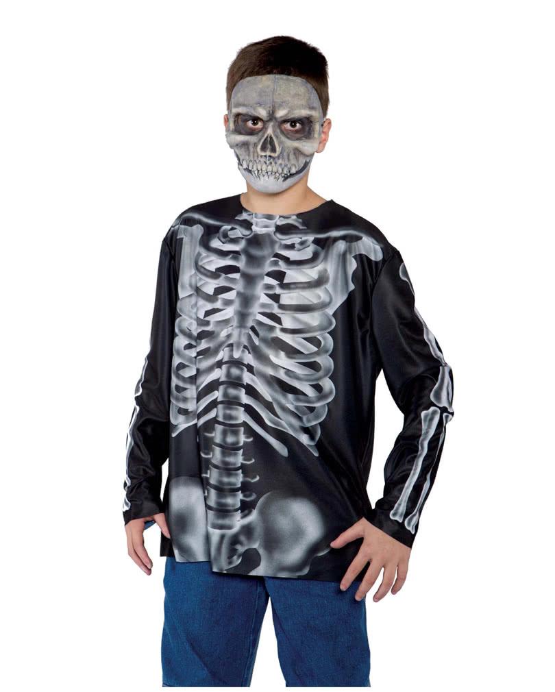 x ray r ntgen teenager longsleeve halloween shirt f r. Black Bedroom Furniture Sets. Home Design Ideas