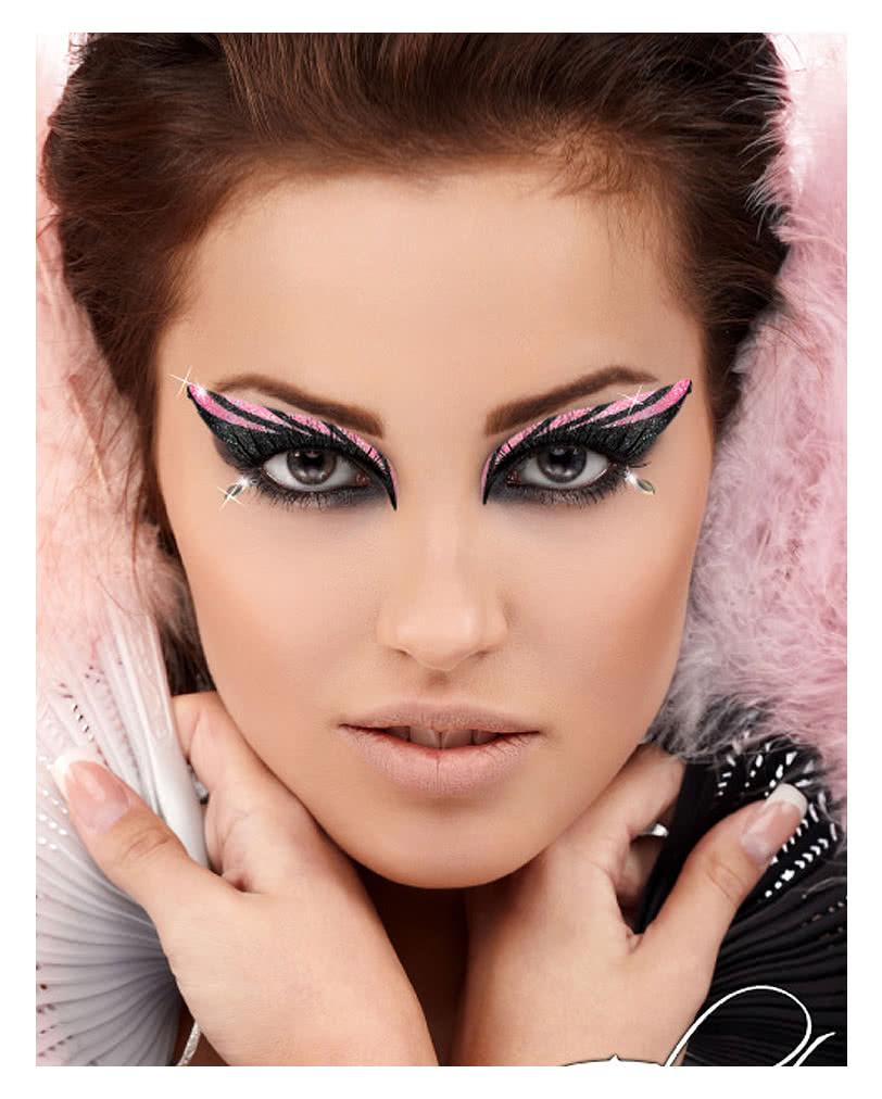 xotic eyes glitzer make up glitter make up augen make up. Black Bedroom Furniture Sets. Home Design Ideas