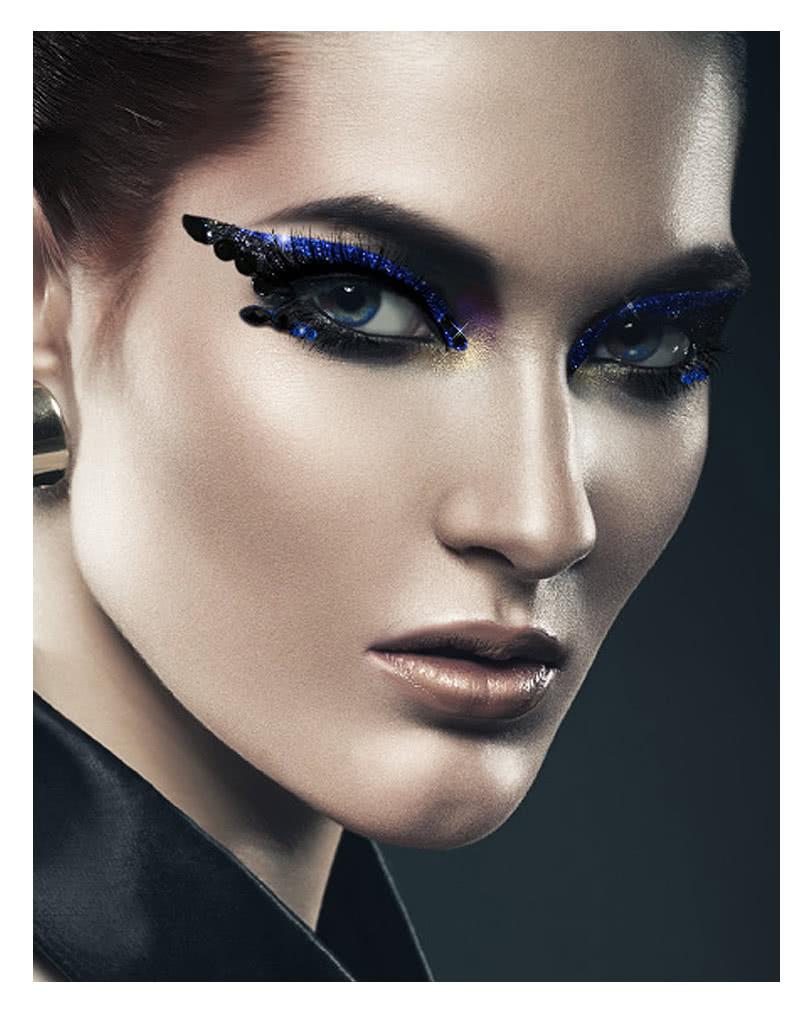 xotic eyes instant make up blau glitzer make up make up. Black Bedroom Furniture Sets. Home Design Ideas