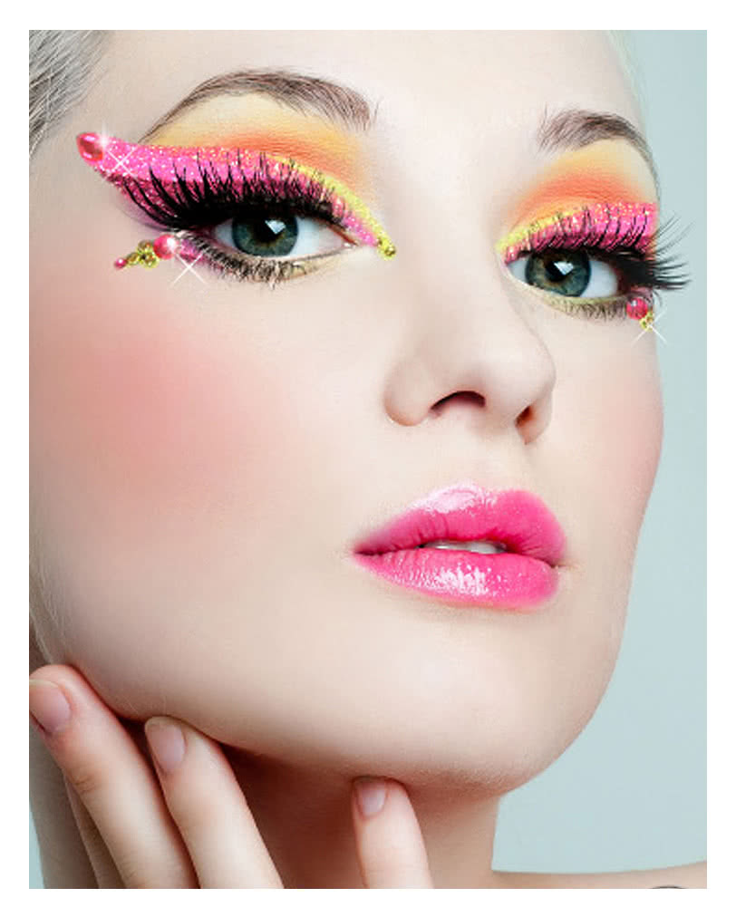 xotic eyes rainbow make up glitzer make up make up kit karneval universe. Black Bedroom Furniture Sets. Home Design Ideas