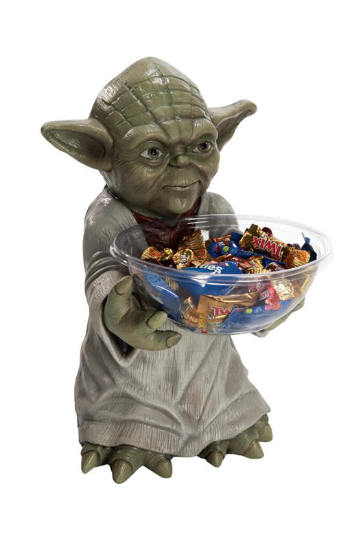 yoda candy holder star wars dekoration jedi figuren. Black Bedroom Furniture Sets. Home Design Ideas