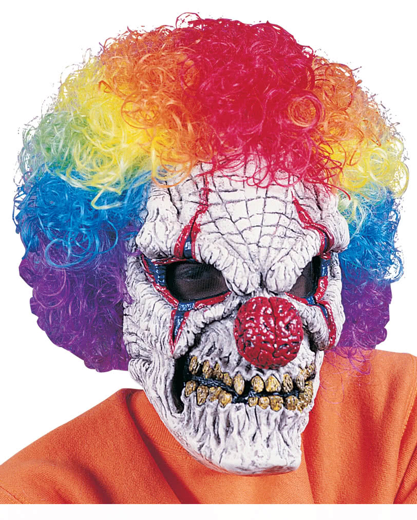 b se clown horrormaske gruselige halloween masken f r horror fans karneval universe. Black Bedroom Furniture Sets. Home Design Ideas