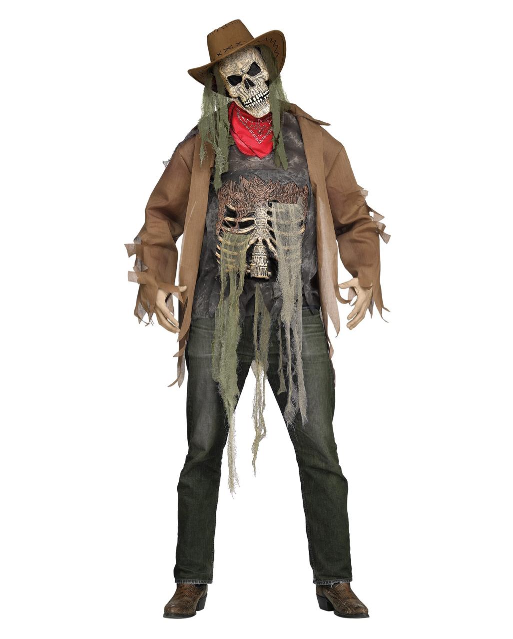 skelett cowboy kost m als herrenverkleidung karneval universe. Black Bedroom Furniture Sets. Home Design Ideas