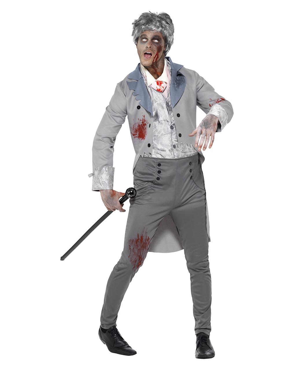 zombie edelmann kost m edle zombie herren verkleidung karneval universe. Black Bedroom Furniture Sets. Home Design Ideas