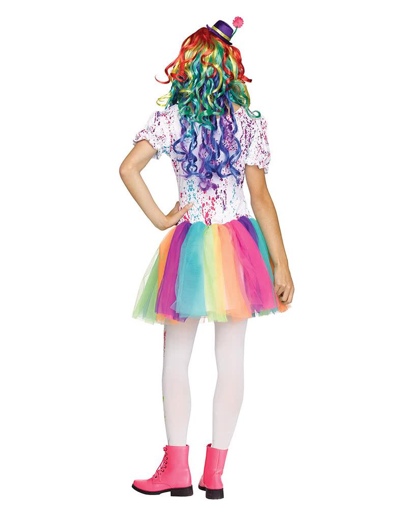 buntes clown teenagerkost m kinder teenager verkleidungen karneval universe. Black Bedroom Furniture Sets. Home Design Ideas