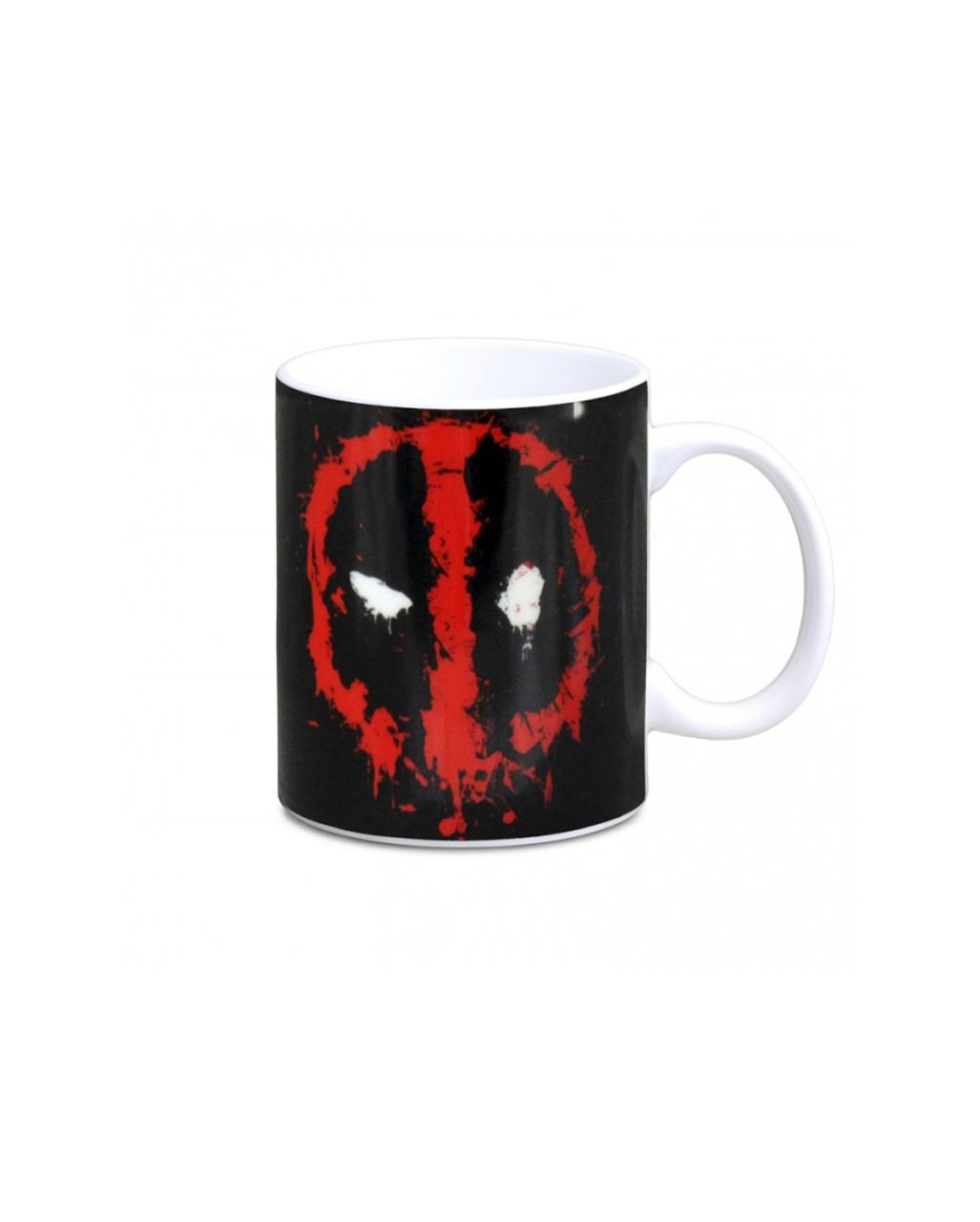 deadpool coffee cup as a superhero merchandise karneval universe. Black Bedroom Furniture Sets. Home Design Ideas
