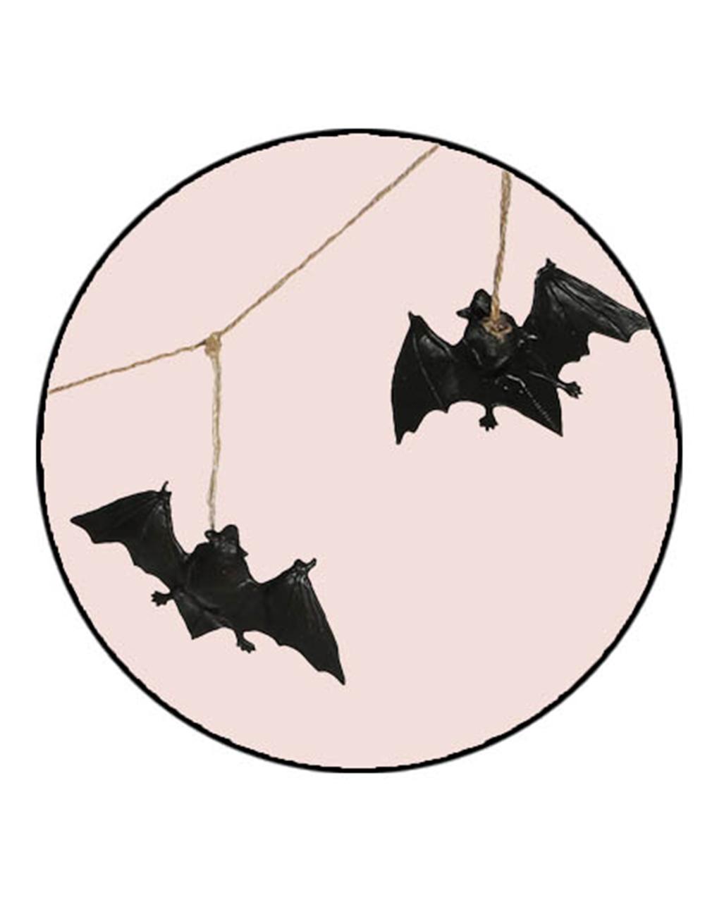 Fledermaus halloween girlande als deko kaufen karneval - Halloween girlande ...