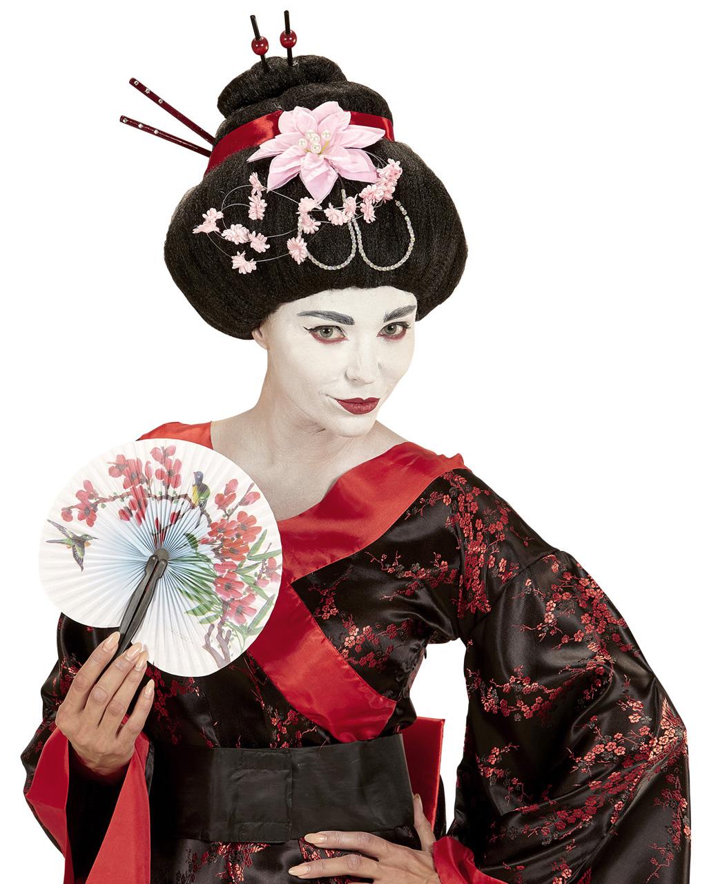 japanerin per cke geisha per cke karneval universe. Black Bedroom Furniture Sets. Home Design Ideas