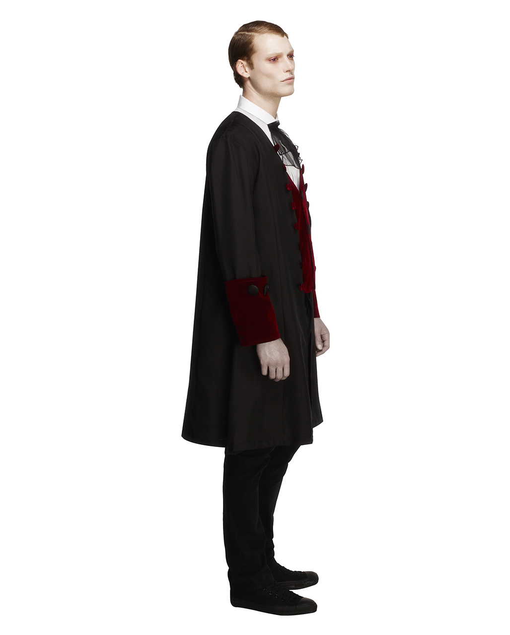 gothic vampir herren kost m viktorianischer gehrock mit weste und halstuch karneval universe. Black Bedroom Furniture Sets. Home Design Ideas