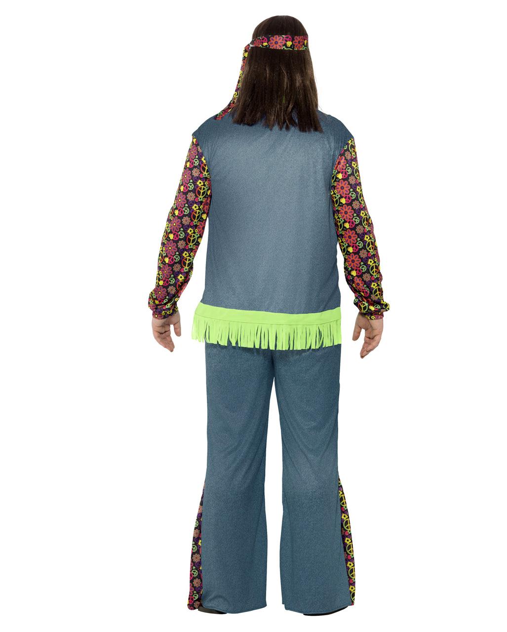 Hippie Herrenkostu00fcm in Plus Size fu00fcr Fasching! | Karneval Universe